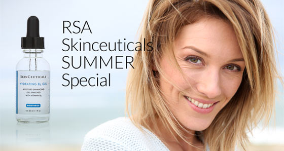 15 ml size of Hydrating B5 Gel FREE  With purchase of Skinceutical products of $150 or more