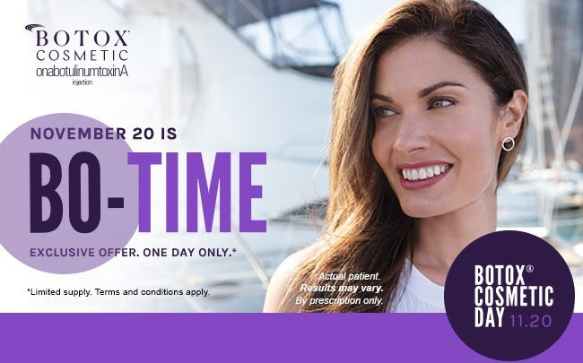 National Botox Day is November 20th!